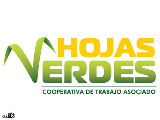 Verdes Logo Logo Hojas Verdes